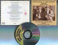 Oscar Klein & Lino Patruno CD Big Four Jazz for two © 1996 MADE IN ITALY JAZZ