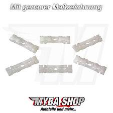 5x remates de techo CLIPS fijación para VW SKODA FELICIA Pickup 191853733a