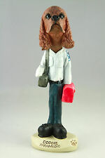 Paramedic Cocker Spaniel Brown -See Interchangeable Breeds & Bodies @ Ebay Store