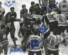 CLARKE CLEMENT TAYLOR WATSON Autographed Signed 8x10 Photo Philadelphia Flyers