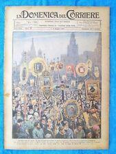 La Domenica del Corriere 8 maggio 1921 Mosca - Ontario,Canada - Croce Rossa