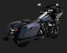 Vance + Hines 450 Raider O/S Slip-On Schalldämpfer - Alle Blk - Harley HD Tour