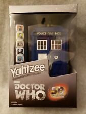 Doctor Who Yahtzee with Tardis Storage Box (New in Package)