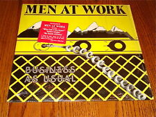 MEN AT WORK BUSINESS AS USUAL ORIGINAL LP STILL IN SHRINK WITH STICKER