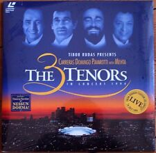 LD CARRERAS PAVAROTTI DOMINGO Los Angeles 3 Tenors 1994 Laserdisc Laser Disc