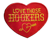 HOOKER HEADERS IRON ON PATCH EMBROIDERED hot rod muscle car auto racing jacket