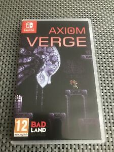 Axiom Verge Nintendo Switch Video Game Original UK Release Mint Condition
