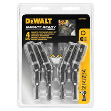 New DEWALT DWPVTDRV 4-Piece Impact Ready Magnetic Pivoting Nut Driver Tool Set