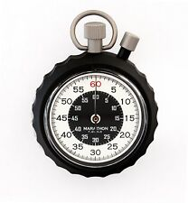 Military Stopwatch: Instant Return Time-Out Single Action Mechanical -- Marathon