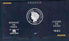 Coffret VIDE - Fleurs de Coins FDC 1983 -  Monnaie de Paris