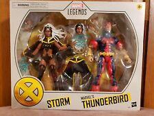 Hasbro Marvel Legends X-Men Storm And Thunderbird 2 Pack