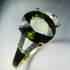 Tourmaline Natural Not Enhanced Yellow Gold Fine Jewellery