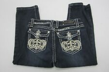 "*MINT*  LA Idol Jeans Girls  Blingy Pockets Size 14/Waist 26.5  x 16"" Inseam"