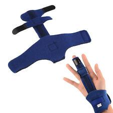 Adjustable Blue Finger Extension Splint Trigger Pain Ease Hand Orthotics Brace