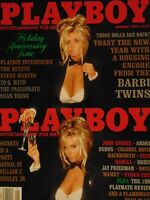 Playboy January 1993 | Barbi Twins Echo Johnson Playmate review   #1568+