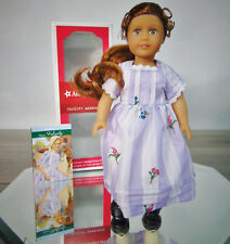 """NEW American Girl FELICITY 6.5"""" MINI DOLL & MEET OUTFIT BOOK Beforever Red Hair!"""