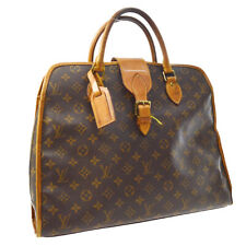 LOUIS VUITTON RIVOLI BUSINESS HAND BAG PURSE MONOGRAM VTG M53380 A54516