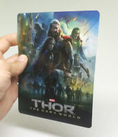 THOR The Dark World Lenticular Magnet cover Flip effect for Steelbook