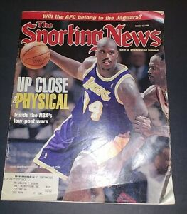 Shaquille O'Neal Autographed The Sporting News 1998 Lakers