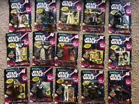 Vintage Star Wars Bend-Ems Lot of 15 Action Figures. New In Packs