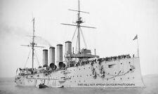 ROYAL NAVY ARMOURED CRUISER HMS ABOUKIR c 1905