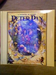 PETER PAN & WENDY - ILLUSTRATED By J.M. BARRIE
