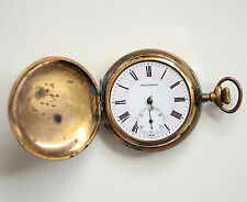Andre Rivalle Hand Winding Pocket watch Hunter Dog and Duck Doesn't Work
