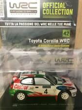 Modellino Auto Macchina Rally WRC n 42 Toyota Corolla del 1999 Scala 1:24
