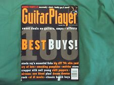 December '93 Guitar Player Magazine 100 Best Buys! Stevie Ray's Licks & More