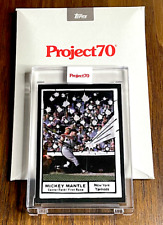 New listing Mickey Mantle 2021 Topps Project70 #77⚾⚾Short Print SP⚾By Joshua Vides⚾PR: 9298*