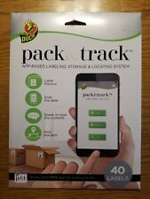 Pack & Track Labels x40 App Organize Moving and Storage Labeling System Duck