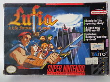 SNES Jeu-Lufia The forteresse of Doom (neuf dans sa boîte) (US Import) 10632345 Super Nintendo