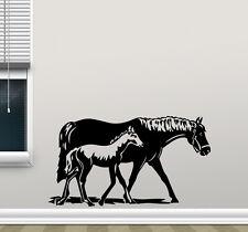 Horse Wall Decal Pony Vinyl Sticker Baby Poster Home Nursery Decor Mural 141nnn