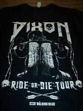 The Walking Dead Daryl Dixon Ride or Die Tour AMC T-shirt Medium