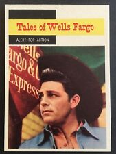 Vintage 1958 Topps TV WESTERNS card #62 ALERT FOR ACTION combined ship