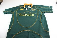 Canterbury Ne Zealand Sasol Embroidered Rugby Thick Jersey SHirt XL