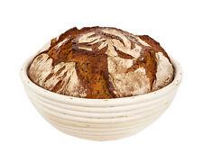 Gärkorb rund für 1kg Brotform zum backen Gärkörbchen Garkorb Brotbackkörbe 23cm