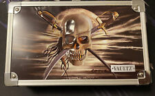 Vaultz Metal Supply / Pencil Box 3D Pirate Skull (C)