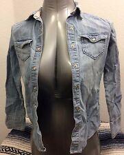 Mossimo Supply Co Girl's Teen's Long Sleeve Shirt Size M Kids