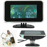 Digital Display 4 in 1 Car Oil Pressure + Water Temp + Oil Fuel Gauge +Voltmeter