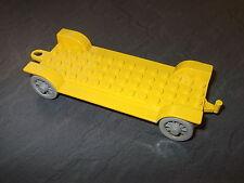 LEGO ® Fabuland Grundplatte 4 x14  Auto gelb für Figuren