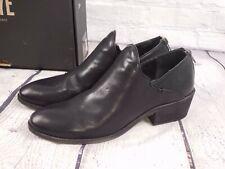 NIB - Frye Leather Carson Shootie Ankle Boots - Black - Sz 10 Medium