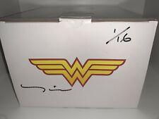DC Direct Wonder Woman Vs Hydra Mini Statue Signed Tim Bruckner 1/16 Pre-owned