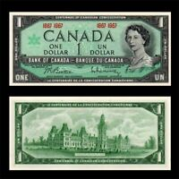 1967 Canada 1 Dollar Centennial Bank Note-Crisp Uncirculated-20-512