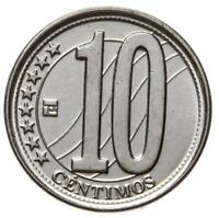 Venezuela - Münze - 10 Centimos Centimes 2009 - Stempelglanz UNC