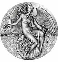 FORTUNA Celestial Beauty 2 Oz Silver Coin 2000 Francs Cameroon 2021