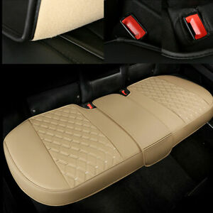 PU Leather Car Seat Covers Rear Bench Cushion Full Surround Interior Accessories