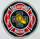 Sanford Fire Department York County Maine ME Patch (F6)