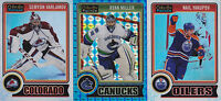 14-15 OPC Platinum Nail Yakupov /199 White Ice O-Pee-Chee Oilers 2014