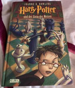 Harry Potter Und Der Stein Der Weisen; Deutsch; Band 1 / J. k. Rowling